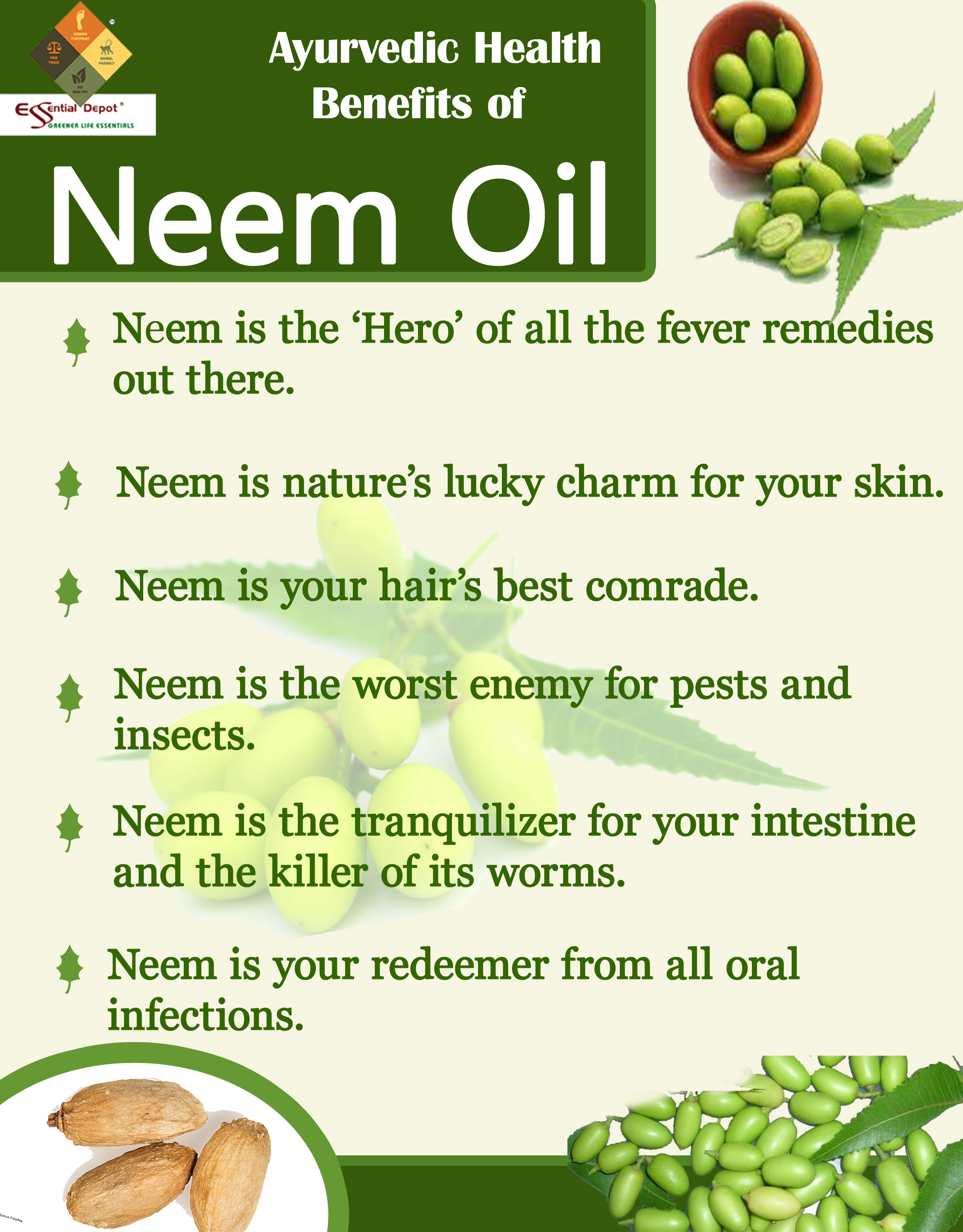 Benefit of neem