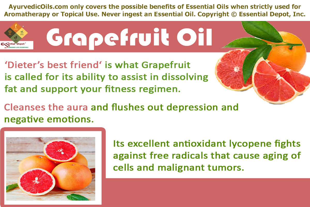 Grapefruit Pink Oil Essential Oil