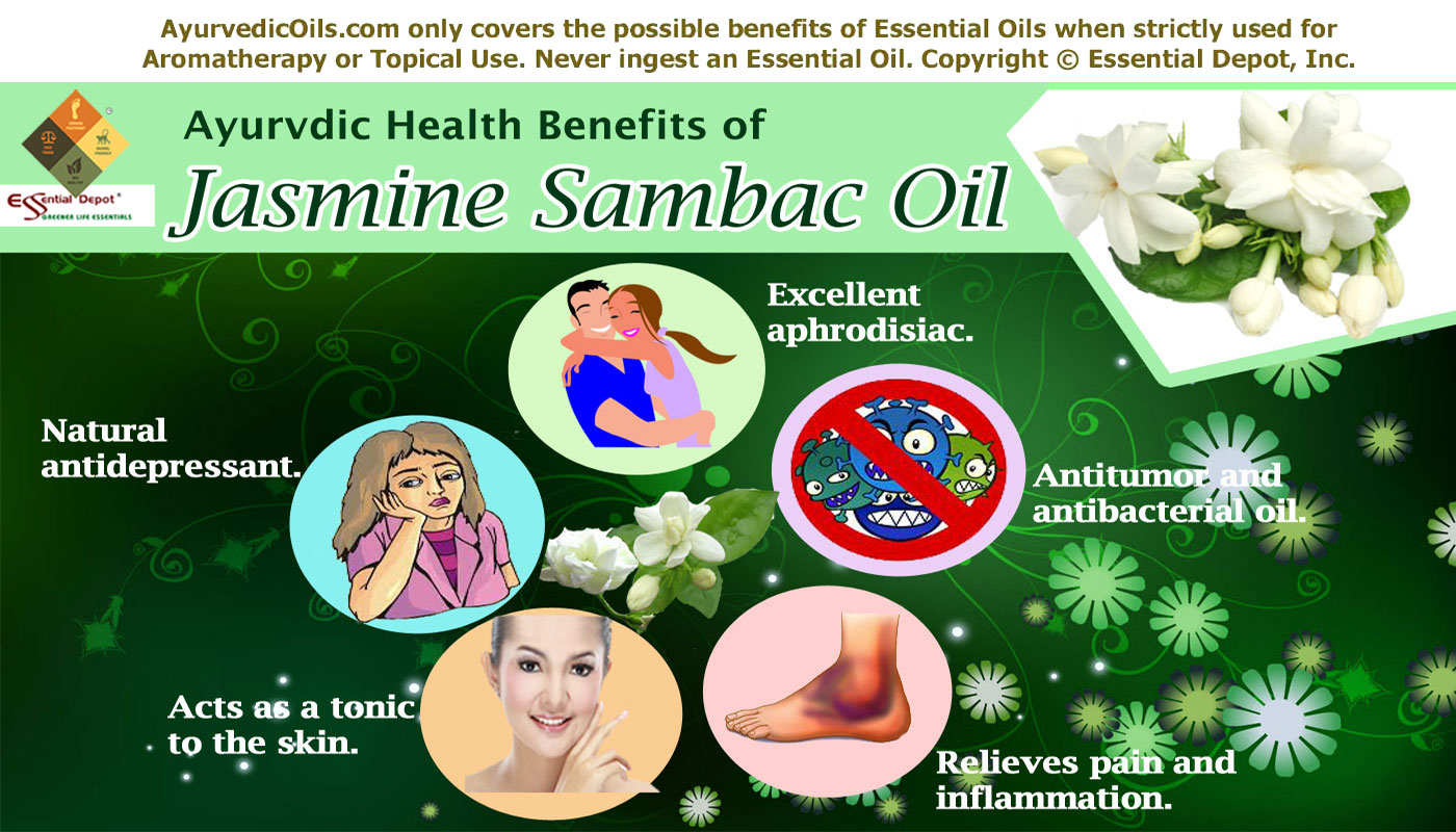 Chemical constituents of Jasmine Sambac oil | Essential Oil