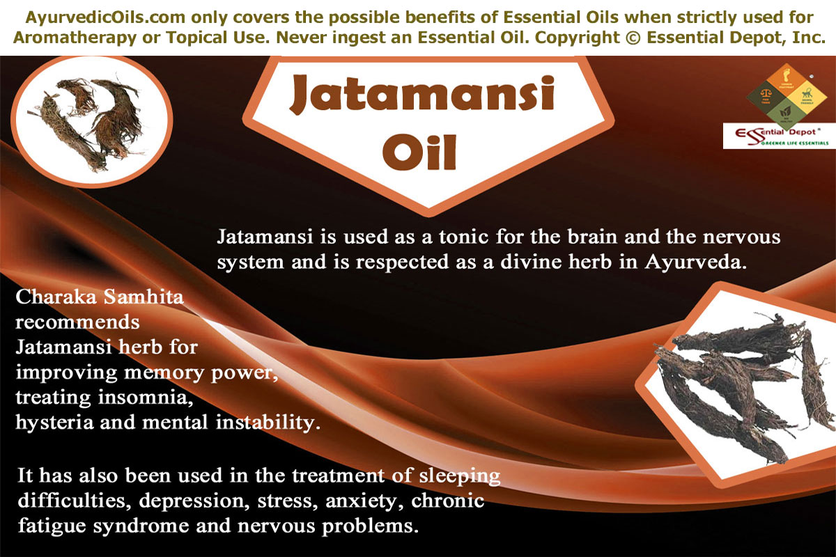 Ayurvedic oils for nervous disorders | Essential Oil